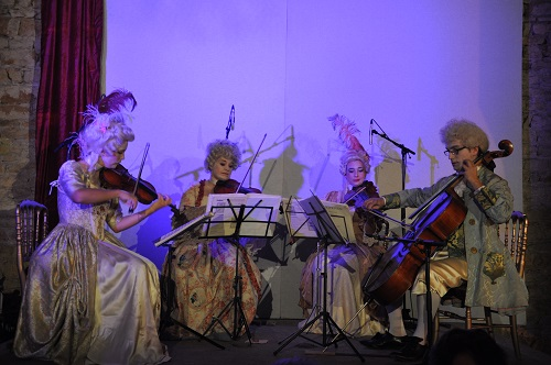 Gala dinner, orchestra